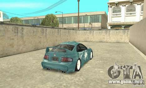Toyota Celica GT-Four v1.1  1994 para vista inferior GTA San Andreas