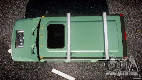 Hummer H2 para GTA 4 visión correcta