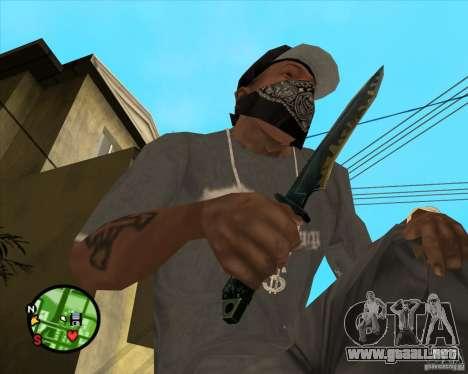 Cuchillo de Counter-strike para GTA San Andreas