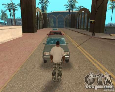 Tornado para GTA San Andreas novena de pantalla