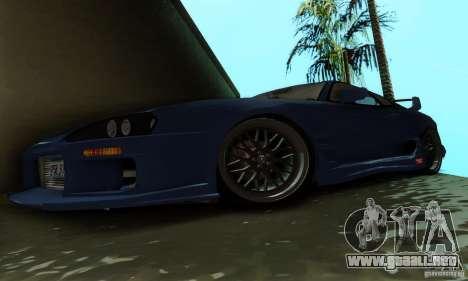 Toyota Supra TRD para visión interna GTA San Andreas