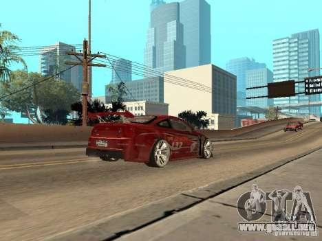 Chevrolet Cobalt SS Shift Tuning para la visión correcta GTA San Andreas