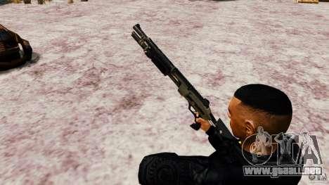 Marshall de Crysis 2 para GTA 4 tercera pantalla