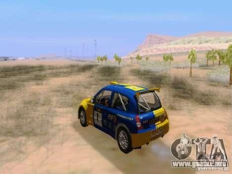 Renault Clio Super 1600 para visión interna GTA San Andreas