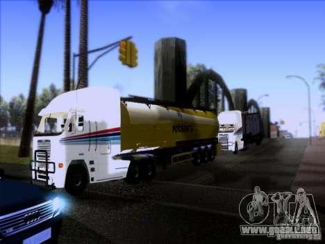 Freightliner Argosy Skin 3 para visión interna GTA San Andreas