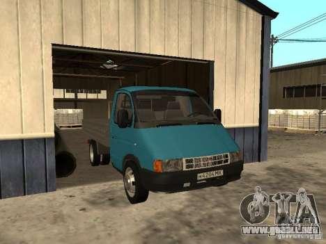 GAZ 33021 para GTA San Andreas