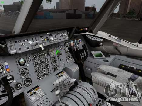 McDonell Douglas DC-10-30 KLM Royal Dutch para vista lateral GTA San Andreas