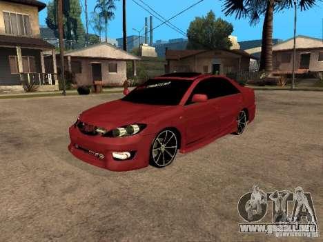 Toyota Camry 2005 TRD para GTA San Andreas