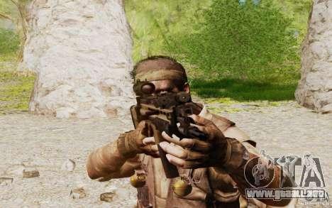 FN Scar L para GTA San Andreas sucesivamente de pantalla