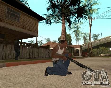 CoD:MW2 weapon pack para GTA San Andreas segunda pantalla