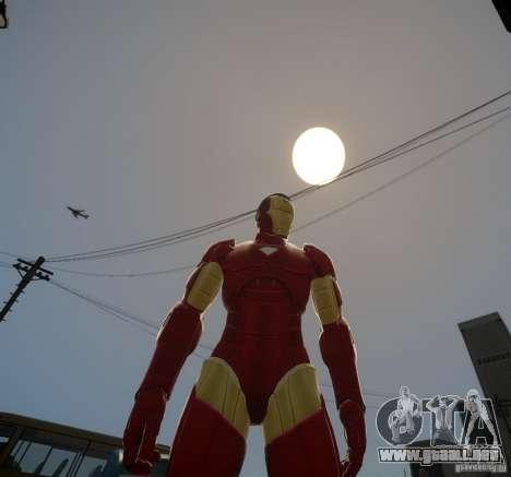 Iron Man Mk3 Suit para GTA 4 segundos de pantalla