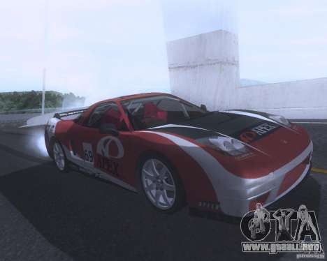 Honda NSX Japan Drift para GTA San Andreas interior