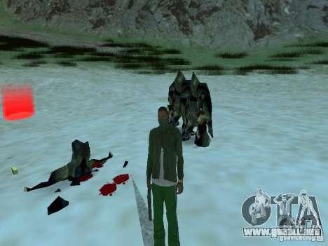 Monstruos submarinos para GTA San Andreas séptima pantalla