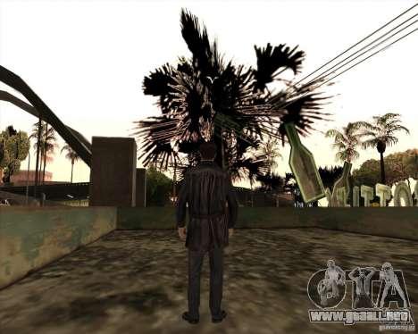 Estrías blancas para GTA San Andreas octavo de pantalla