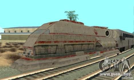 Un buen tren, Star Wars para GTA San Andreas