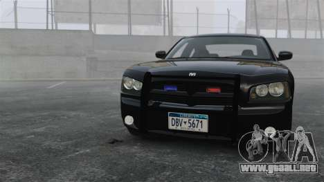 Dodge Charger RT Hemi FBI 2007 para GTA 4