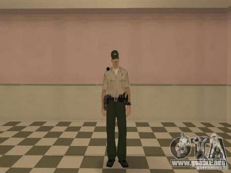 Los Angeles Police Department para GTA San Andreas quinta pantalla
