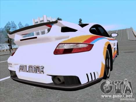 Porsche 997 GT2 Fullmode para GTA San Andreas left