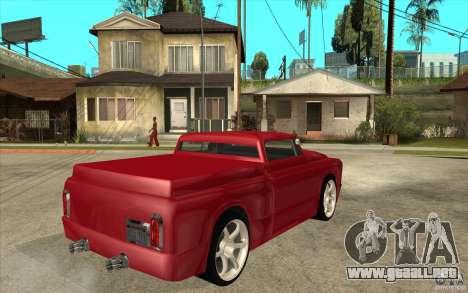 Slamvan Custom para la visión correcta GTA San Andreas