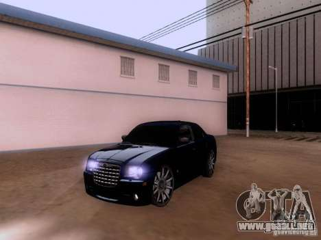 Chrysler 300 c SRT8 2007 para GTA San Andreas
