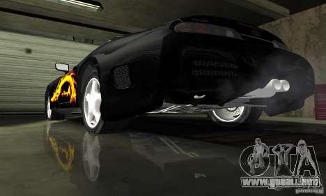 Toyota Supra Tuneable para la vista superior GTA San Andreas