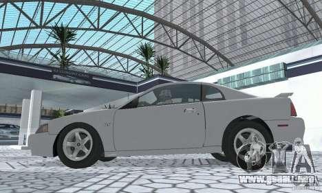 Ford Mustang GT 2003 para la visión correcta GTA San Andreas