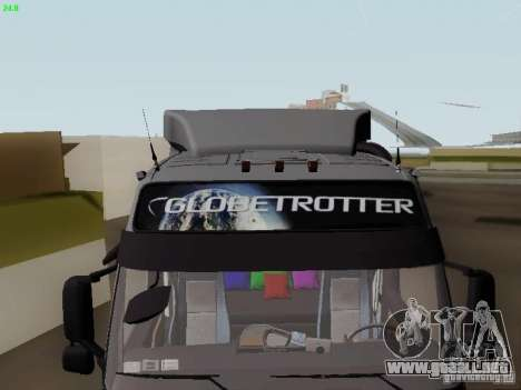 Volvo FH13 Globetrotter para la vista superior GTA San Andreas