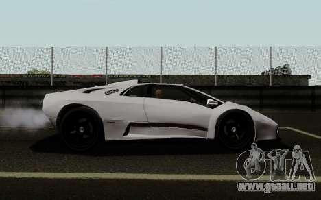 Lamborghini Diablo GTR TT Black Revel para GTA San Andreas left