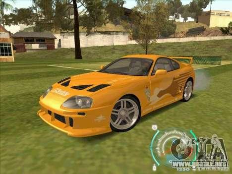 Toyota Supra from 2 Fast 2 Furious para GTA San Andreas