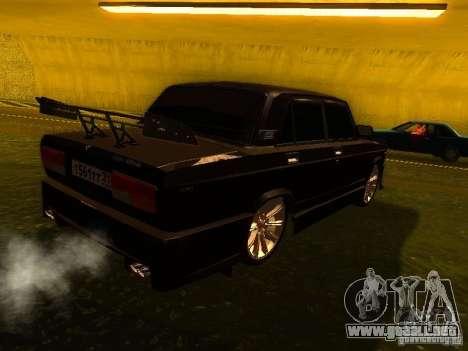VAZ 2107 X-estilo para la visión correcta GTA San Andreas