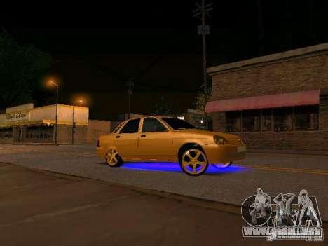 LADA Priora oro 2170 Edition para GTA San Andreas
