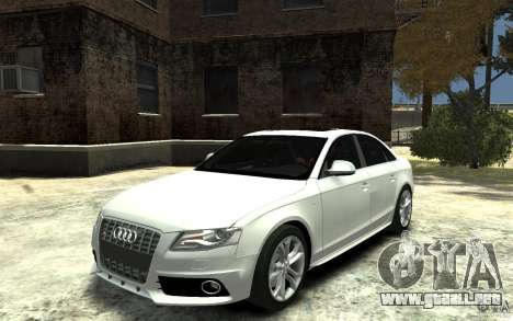Audi S4 2010 v.1.0 para GTA 4
