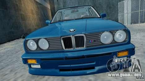 BMW M3 E30 FINAL para GTA 4 Vista posterior izquierda