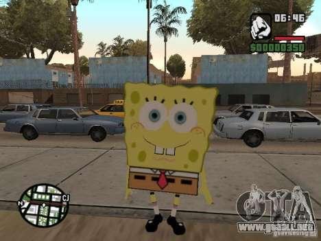 Sponge Bob para GTA San Andreas