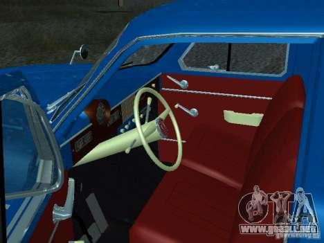 Moskvich 429 para GTA San Andreas vista hacia atrás