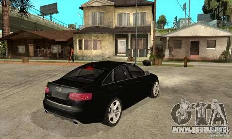 Audi RS6 2010 para la visión correcta GTA San Andreas