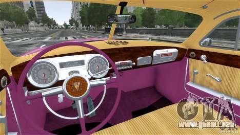 Hudson Hornet Coupe 1952 para GTA 4 vista lateral