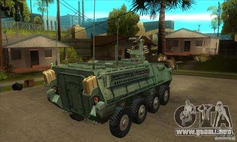 Stryker para la visión correcta GTA San Andreas