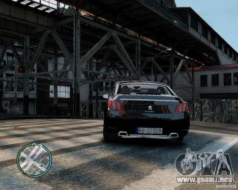 Pegeout 508 v2.0 para GTA 4 visión correcta