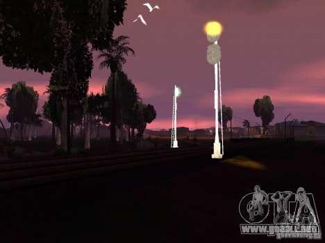 Luces de tráfico ferroviario 2 para GTA San Andreas sexta pantalla