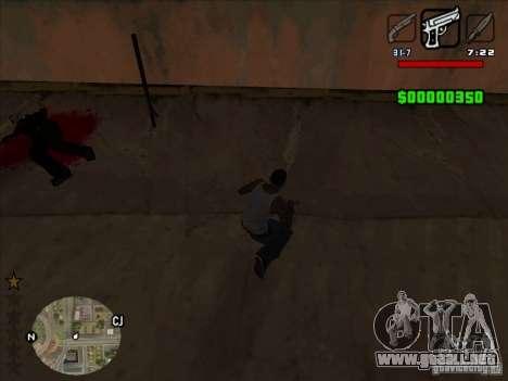 HUD by Alex para GTA San Andreas tercera pantalla