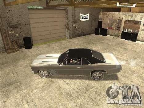 GTAIV TLAD Tampa para la visión correcta GTA San Andreas