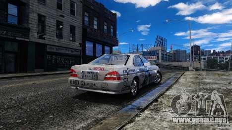 Nissan Laurel GC35 Itasha para GTA 4 left