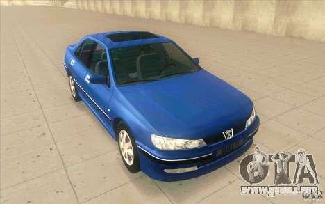 Peugeot 406 1.9 HDi para GTA San Andreas