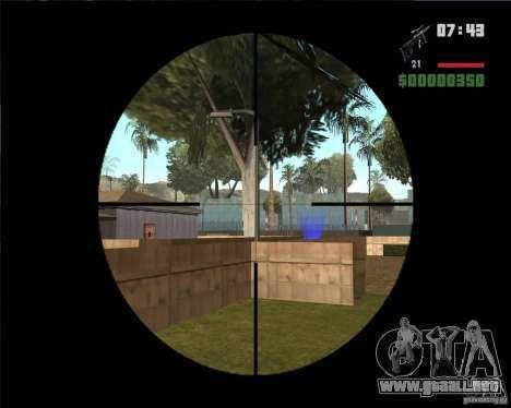 SVD para GTA San Andreas tercera pantalla