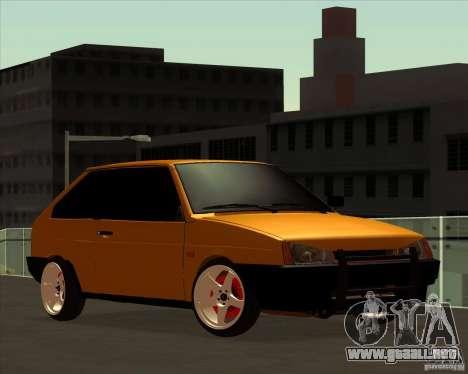 VAZ 2108 (versión con discos blancos) para GTA San Andreas