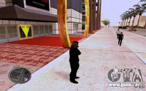 HTC Sensation para GTA San Andreas tercera pantalla
