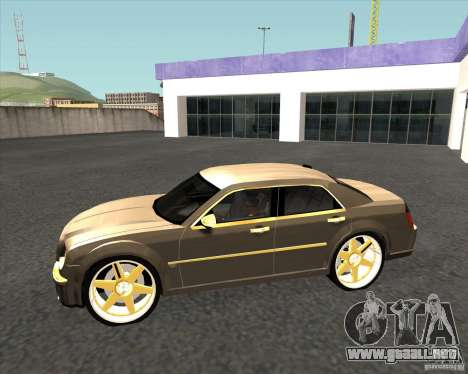 Chrysler 300C dub edition para GTA San Andreas left