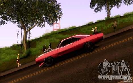 Dodge Charger RT para GTA San Andreas left