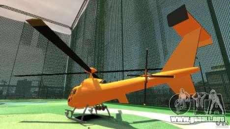 Helicopter From NFS Undercover para GTA 4 visión correcta